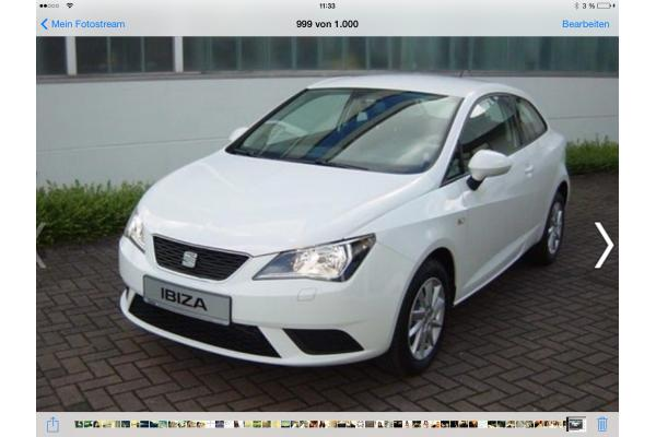 leasing durch leasing bernahme seat ibiza sc style salsa. Black Bedroom Furniture Sets. Home Design Ideas