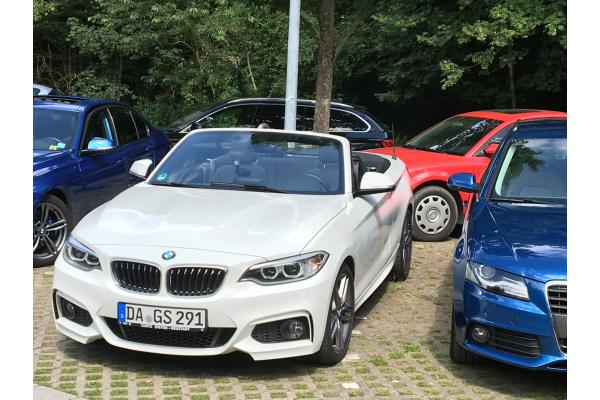 leasing durch leasing bernahme bmw 220 220d cabrio m sport paket bj 08 2015 in darmstadt. Black Bedroom Furniture Sets. Home Design Ideas